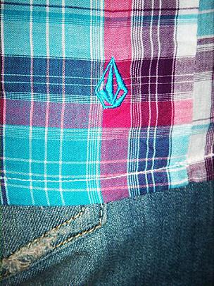 VOLCOM STONE TUNIKA TOP DILLON  detail 3